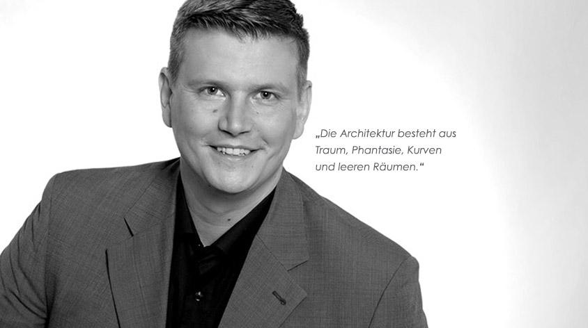 Jonas Weber Architektur mit Zitat
