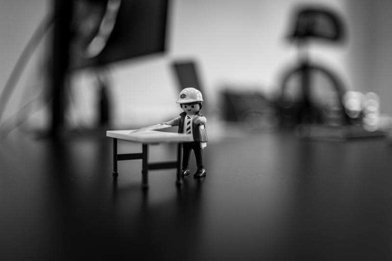 JW Architekten Playmobil Bauleiter